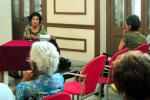 "Tertulia ""Esculturas cubanas fuera de Cuba"", en homenaje a Thelvia Marín."
