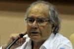 Adolfo Pérez Esquivel , Premio Nobel de la Paz, ofreció una Conferencia magistral durante la Tercera Conferencia Internacional Por el Equilibrio del Mundo. (foto: AIN)