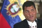 El 60 por ciento de los electores respaldan a Correa como próximo presidente de Ecuador.