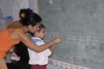 La escuela especial Rafael Morales, para niños sordos e hipoacúsicos, en Sancti Spíritus, cumplío 30 años de creada.