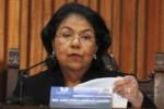 """Estamos ayudando a preservar un derecho fundamental del Presidente"""", dijo Estela Morales."""