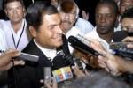 Correa llamó al voto unido por la 35 en las elecciones del 17 de febrero próximo.