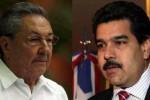 Raúl Castro reiteró la solidaridad de los cubanos con la Revolución Bolivariana.