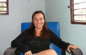 Sheila: Estoy orgullosa no solo de ser espirituana, también jatiboniquense. (foto: Oscar Salabarría)