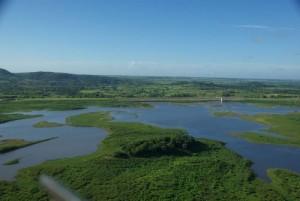 La presa puede retener unos 32 millones de metros cúbicos de agua.