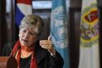 Alicia Bárcena Ibarra, Secretaria Ejecutiva de la CEPAL.