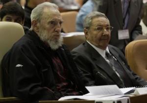 Fidel y Raúl asistieron a la constitución de la Asamblea Nacional en su VIII Legislatura.