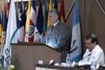 Miguel Díaz-Canel llamó a desarrollar mejores prácticas de cooperación para avanzar en la esfera educacional. (foto: Roberto Morejón)