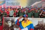 Maduro presentó el mensaje de Chávez en el acto por el aniversario de la rebelión del 4 de febrero.