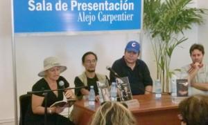 Presentada La Canaria o La mitad de la sombra, de Marlene García.