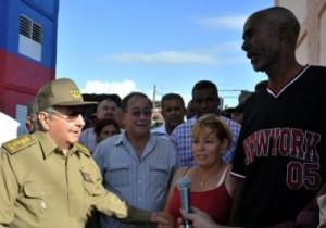 Raul Castro Cast Votes in Eastern Santiago de Cuba