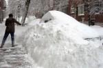 La tormenta de nieve provocó que en el estado de Massachusetts más de 400.000 personas quedaran sin luz.