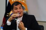 La CIA actúa contra el presidente Rafael Correa con dinero del narcotráfico .