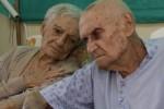 Emelina y Florencio llevan casi 75 años de comunión conyugal.