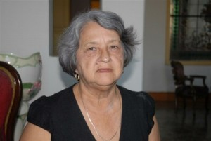 Gloria Pérez Valdivia dedicó casi 30 años al Hogar de Niños sin Amparo Familiar de Sancti Spíritus.