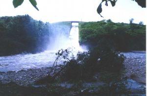 Con la terminación del aliviadero nuevo se concluyen los trabajos de reparación en la presa Lebrije.