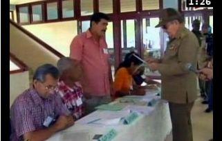 Raúl fue propuesto candidato a diputado por el municipio santiaguero de Segundo Frente.