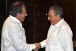 Raúl y Almagro expresaron su mutua satisfacción por el positivo estado de las relaciones bilaterales.