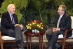 En el encuentro se abordaron temas de interés para ambos países.