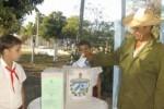 """Celio Cancio ejerció el voto alrededor de las 8 y media de la mañana en el Colegio Electoral 1 de la circunscripción 52 perteneciente a la comunidad """"La Botella"""" del municipio Sancti Spíritus."""