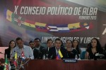 El X Consejo Político de la ALBA sesionó en Caracas.