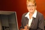 Diputada Aixa Hevia, vicepresidenta de la Unión de Periodistas de Cuba.
