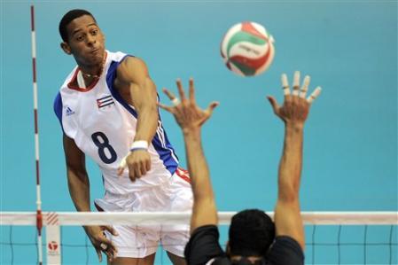 Comanda Cuba Grupo F de Liga Mundial de Voleibol