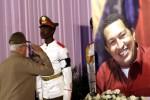 El pueblo de Cuba rindió homenaje a Chávez.