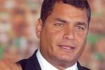 Estas trasnacionales que creen que su billete pueden pisotear países soberanos, países dignos, expresó Correa.