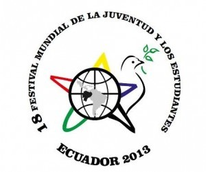 Logo del XVIII Festival Mundial de la Juventud.