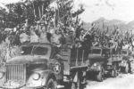 La industria se dedicó inicialmente a la reparación de vehículos  utilizados por los combatientes de la Lucha Contra Bandidos.