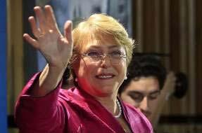 La exmandataria dijo que la enseñanza en Chile no puede seguir siendo un negocio.