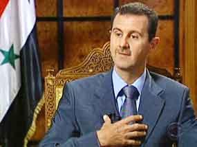 Bashar al-Assad, presidente de Siria.