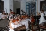 Niños de la Camerata de la Escuela de Música, en la reinauguración del Museo de Arte Colonial.