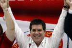 Horacio Cartes, elegido presidente del Paraguay.