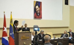 Raúl Castro y Nicolás Maduro presidieron la clausura de la XIII reunión de la Comisión Intergubernamental Cuba-Venezuela.