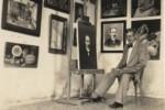 La pintura acompañó siempre a Oscar Fernández Morera.