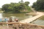 Cuando se remodele el puente contará con anclajes a las rocas que servirán de base a los cimientos.