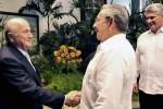 Raúl y Blatter dialogaron sobre el desarrollo del fútbol en Cuba.