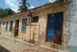 Los trinitarios buscan mantener la imagen arquitectónica-colonial que distingue al territorio. (foto: Radio Trinidad)