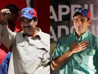 Maduro con respecto a Capriles fue considerado por la población como el candidato con más simpatías.