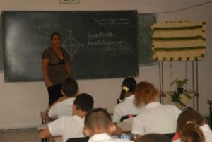 Alrededor de 40 pedagogos sujetan las riendas de la enseñanza en este centro.