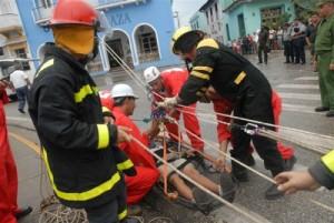Entre los objetivos generales del ejercicio está puntualizar las medidas previstas en cada etapa del proceso de reducción de desastres.