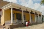 Vista exterior del museo de Arqueología.