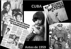 Cuba antes del triunfo de la Revolución en 1959.