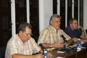 Díaz-Canel destacó la importancia de potenciar espacios juveniles no tradicionales como fórmula para la recreación. (Foto: GARAL)