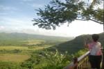 Vista del Valle de los Ingenios, en Trinidad.