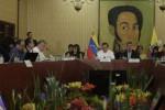 Ecuador y Venezuela firmaron convenios de cooperación en abastecimiento.