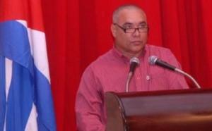 Joel Gallardo, presidente de la Asamblea Municipal del Poder Popular. (foto: Oscar Alfonso)