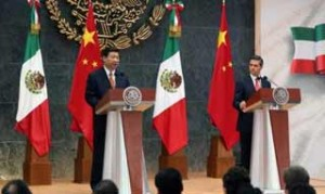 México es la tercera escala de una gira de Xi Jinping que comenzó el pasado viernes en Trinidad y Tobago y de ahí siguió viaje a Costa Rica.